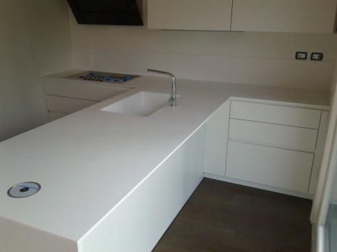 cucina bianca moderna Archives - Tecnomobili